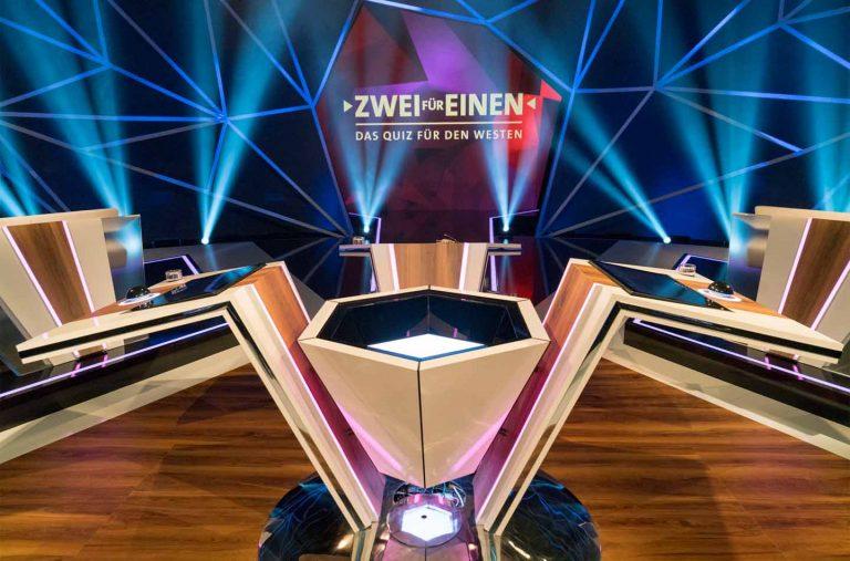German Design Award für Set Design – WDR Das Quiz für den Westen